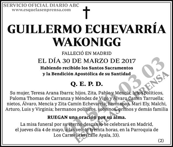 Guillermo Echevarría Wakonigg